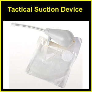 Tactical Suction Device - Airway Obstruction (10-0018)