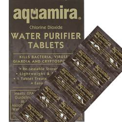 Aquamira Water Purifier Tablets Military 10 Pack (SM67405)
