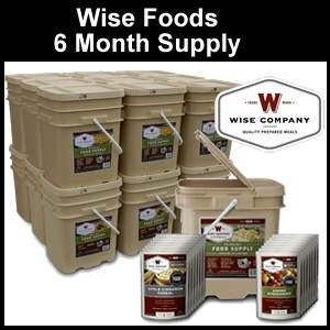 Wise Foods Six Months Supply Emergency Food (FS36)