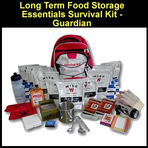Long Term Food Storage Essentials Survival Kit - Guardian (FSEK)