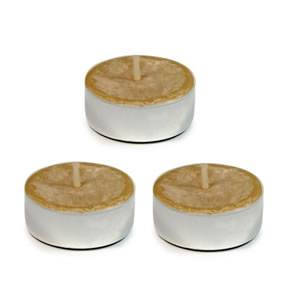 Beeswax Tealight Candles - 3 Pack (A-CAN3PK-B)