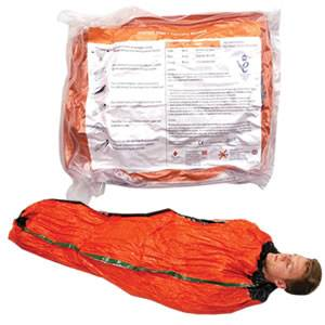 Blizzard Heat Casualty Blanket - Heat Generating - Orange (BH-03-Orange)