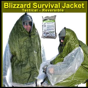 Blizzard Survival Jacket - Tactical / Reversible (BPS-03)