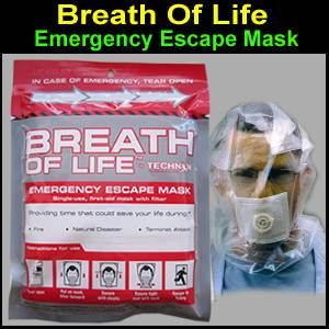 Breath of Life Emergency Escape Mask (BOL001)