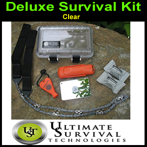 Deluxe Survival Kit, CLEAR,  by UST (SM300-0048-001)