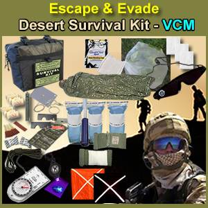 Escape & Evade® Desert Survival Kit - VCM (EEDMSK-VCM)