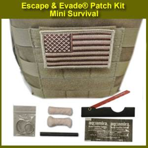 Escape & Evade® Patch Kit – Mini Survival (EEPK-MS)