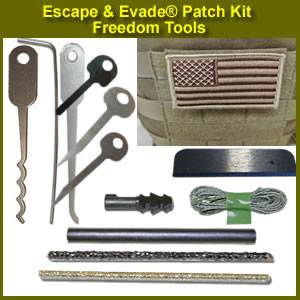 Escape & Evade® Patch Kit – Freedom Tools (EEPK-FT)