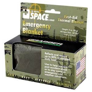 SPACE® Brand Emergency Blanket - Tactical (SM-6666EBMR)