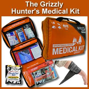 The Grizzly Medical kit for Hunters (0105-0389)