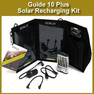 Guide 10 Plus Solar Recharging Kit by GOAL0 (41022)