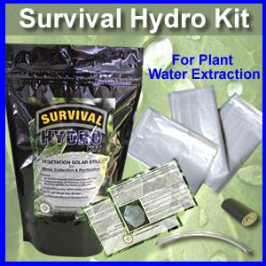 Hydro Kit - Survival Plant Water Extraction Solar Stills (hydro)