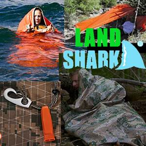 Land-Shark: In Water & On-Land Survival Shelter -Tactical (landshark)