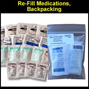 Refill Medications, Backpacking (SM0155-0309)