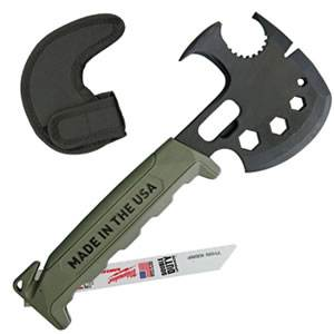 Off Grid Survival Axe Elite - Green (SM-IFSAG)