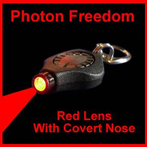 Photon Freedom Red Lens Micro with Covert Nose (photonredcovert)