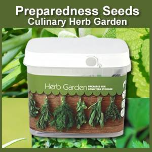 Herb Garden Bucket of Preparedness Seeds Non-GMO (PSHG)