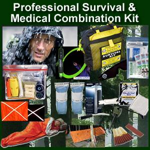 Professional Survival & Medical Combination Kit (prokit)