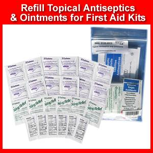 Topical Antiseptics and Ointments Re-Fill (SM0155-0313)