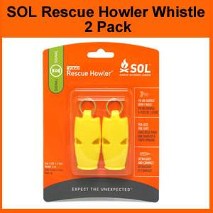 SOL Rescue Howler Whistle (SM0140-0002)