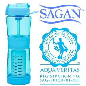 Sagan Journey™ Water Purifier Bottle  (SM57042b)