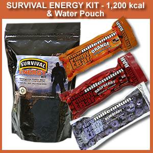 1200 KCAL Survival Energy Kit (1200kcalenergykit)
