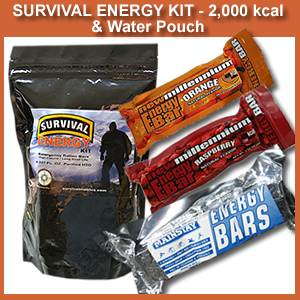 2000 KCAL Survival Energy Kit (2000kcalenergykit)