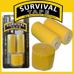 Survival Tape Pak - Rescue Yellow (SMtaperescueyellow)
