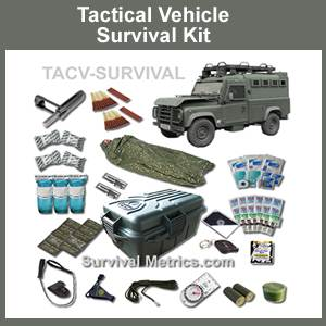Tactical Vehicle Survival and Medical Kit (tacvkit)