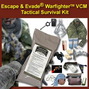 Escape & Evade® Warfighter Tactical Survival Kit (VCM) (EEWTSK-VCM)