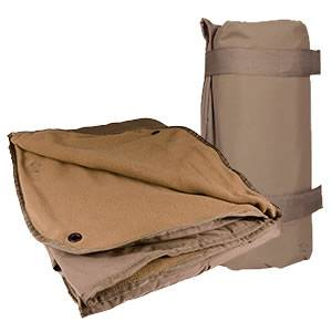 Warm-N-Dry Fleece - Waterproof Blanket - Coyote (SM4923000)