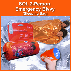 SOL TWO Person Emergency Bivvy (Sleeping Bag) (0140-1139)
