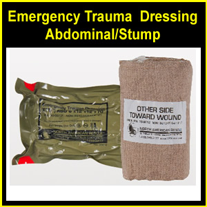 Emergency Trauma Dressing (ETD) Abdominal/Stump - Tactical (30-0012)