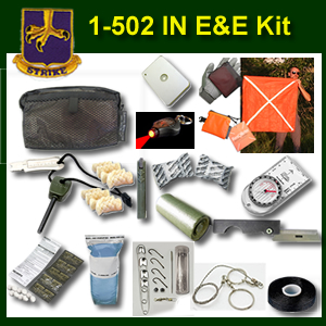502nd IN E&E Survival Kit (502ee)