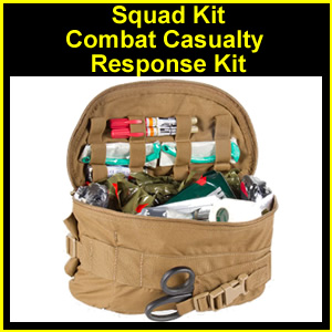 Squad Kit - Combat Casualty Response (CCRK) (80-0037-93)