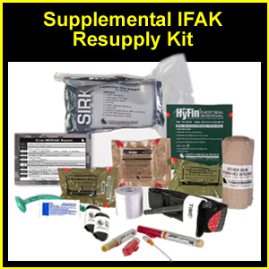 Supplemental IFAK Resupply Kit- with ChitoGauze PRO (80-0225)