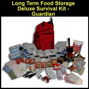 Long Term Food Storage Deluxe Survival Kit - Guardian (FSDK)