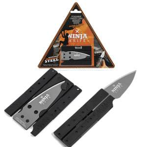 Wallet Ninja Folding Knife - Credit Card Size (SMNINJA401)