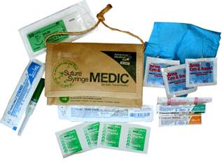 Suture Medical Kit (SM0130-0468)