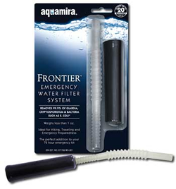 Frontier Emergency Water Filter Straw (SM117576)