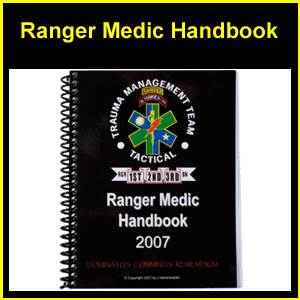 US Army Ranger Medic Handbook (Manual) (ZZ-0194)