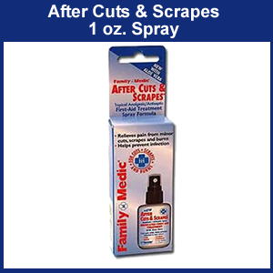 AfterCuts and Scrapes 1 oz Pump (SM0170-3300)