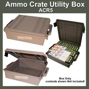 MTM Ammo Crate Utility Box ACR-5 (SMACR-5-72)