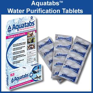 AquaTabs Water Purification Tablets (aquatabs)