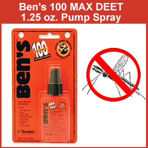 Bens 100 Max DEET 1.25 oz Pump Spray (SM0165-7070)