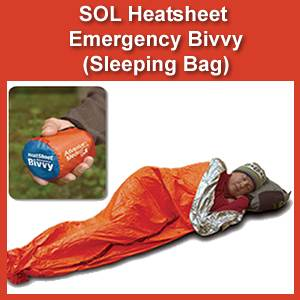 SOL Heatsheet Emergency Bivvy (SM0140-0138)