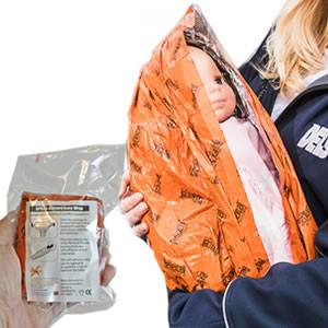 Blizzard Baby Wrap - Emergency - Orange (BPS-23-O)