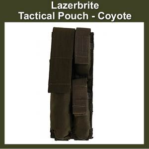 Lazerbrite Tactical Pouch Coyote (SMLBP-Coyote)