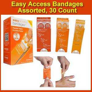 Easy Access Bandages Assorted (SM0095-2000)