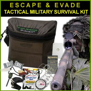Escape & Evade Tactical Military Survival Kit (EETMS)